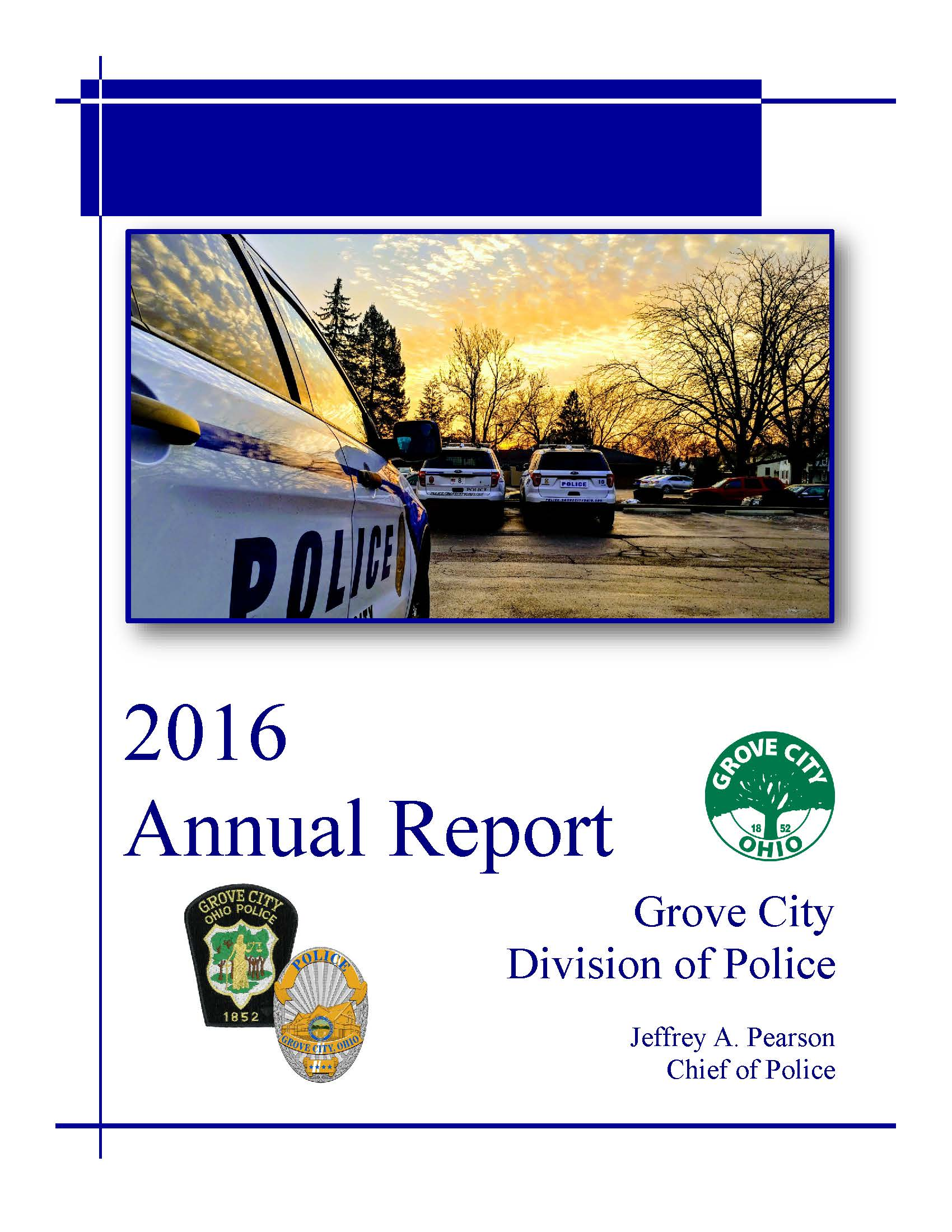 division of police grove city ohio